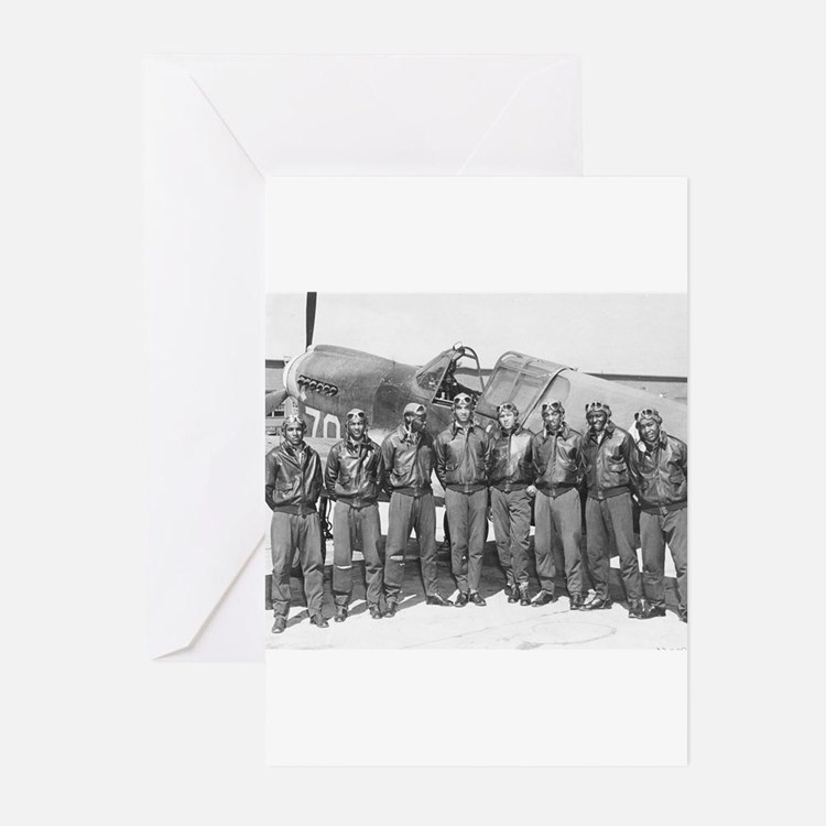tuskegee airmen Greeting Cards