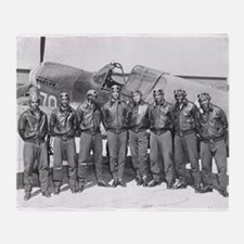 tuskegee airmen Throw Blanket
