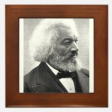 frederick douglass Framed Tile