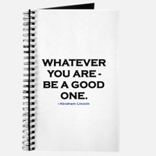 BE A GOOD ONE! Journal