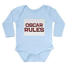 Cute Oscar Long Sleeve Infant Bodysuit