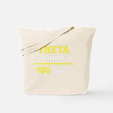 Unique Theta Tote Bag