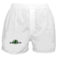 I am Queens Blvd 2 - Grn Boxer Shorts
