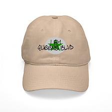 I am Queens Blvd 2 - Grn Baseball Cap
