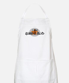 I am Queens Blvd 2 - Orange BBQ Apron