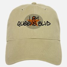 I am Queens Blvd 2 - Orange Baseball Baseball Cap