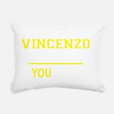 Cute Vincenzo Rectangular Canvas Pillow
