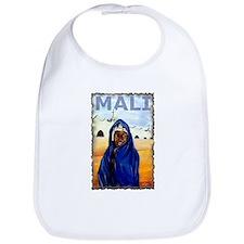 Vintage Mali Art Bib