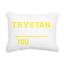 Funny Trystan Rectangular Canvas Pillow