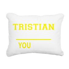 Funny Tristian Rectangular Canvas Pillow