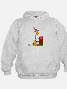 Christmas Giraffe Hoodie