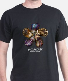 Five Poad(tm) Star Dark Tee