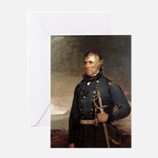 zachary taylor Greeting Cards