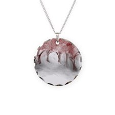 Cranberry Trees Necklace