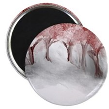 Cranberry Trees Magnet