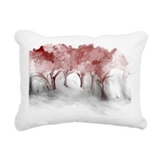 Cranberry Trees Rectangular Canvas Pillow
