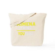 Funny Ximena Tote Bag