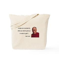 Dalai Lama 8 Tote Bag