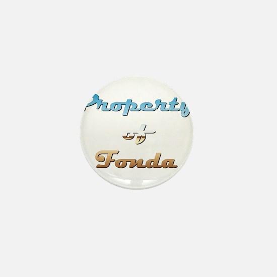Property Of Fonda Female Mini Button