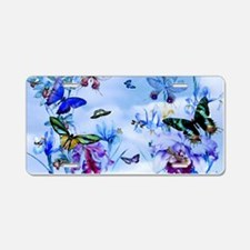 Take Flight Butterflies Orc Aluminum License Plate