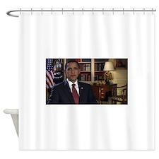 barack obama Shower Curtain