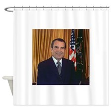 ricjard nixon Shower Curtain