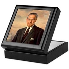 lyndon baines johnsn Keepsake Box