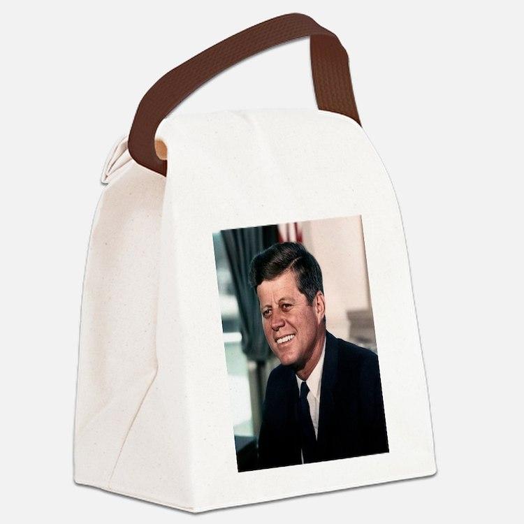 john f kennedy Canvas Lunch Bag