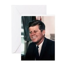 john f kennedy Greeting Cards