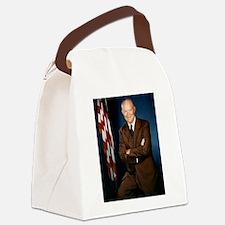 dwight d eisenhower Canvas Lunch Bag