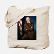 dwight d eisenhower Tote Bag
