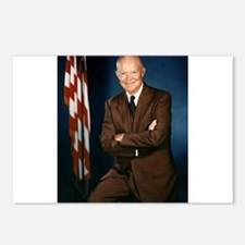 dwight d eisenhower Postcards (Package of 8)
