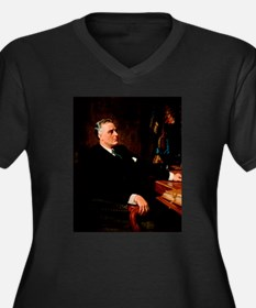 franklin d roosevelt Plus Size T-Shirt