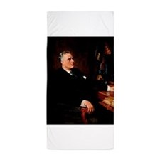 franklin d roosevelt Beach Towel