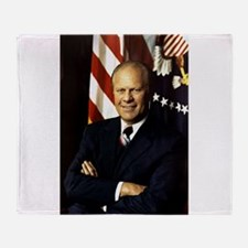 gerald ford Throw Blanket