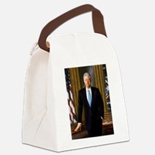 william,jefferson,clinton Canvas Lunch Bag
