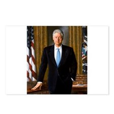 william,jefferson,clinton Postcards (Package of 8)