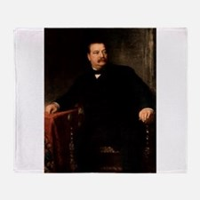 grover cleveland Throw Blanket