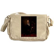 abe lincoln Messenger Bag