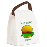 Hamburger Canvas Lunch Bag