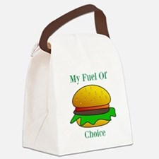 My Fuel Of Choice Canvas Lunch Bag