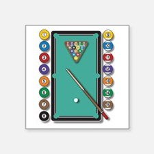 Billiards Sticker