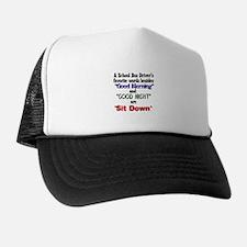 Funny School bus drivers Trucker Hat