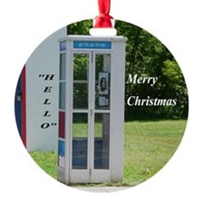 Phone Booth Ornament