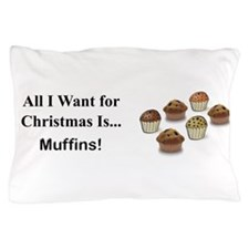 Christmas Muffins Pillow Case