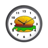 Burger Wall Clocks