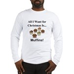 Christmas Muffins Long Sleeve T-Shirt