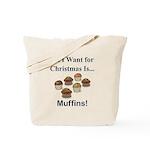 Christmas Muffins Tote Bag