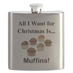 Christmas Muffins Flask