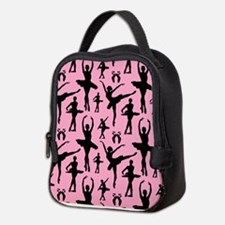 Ballerina Silhouette Neoprene Lunch Bag